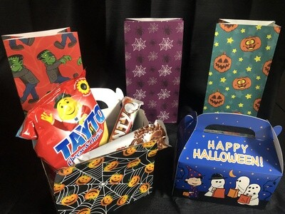 Halloween Candy Bags and Boxes