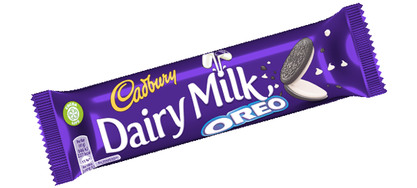 25 Cadbury: Dairy Milk: Oreo Bars