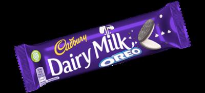 25 Cadbury: Dairy Milk: Oreo Bars