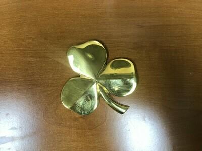 1 Brass Shamrock Paperweight ($30 Value)