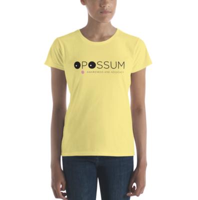 Women's Opossum T-Shirt - Modern Logo (Multiple colors)