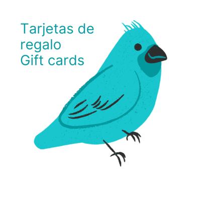 Tarjeta de regalo / Gift Card