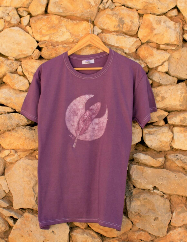 Camiseta en batik