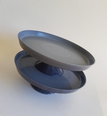 Grey Cake Stands