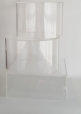 Fillable Clear Acrylic Stands - Various Sizes