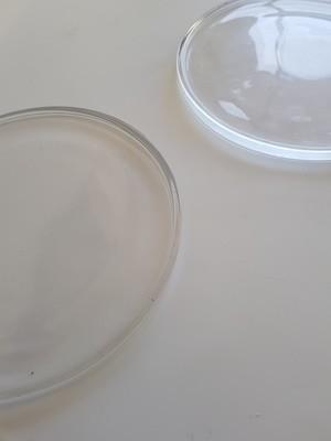 Glass Circle Platter