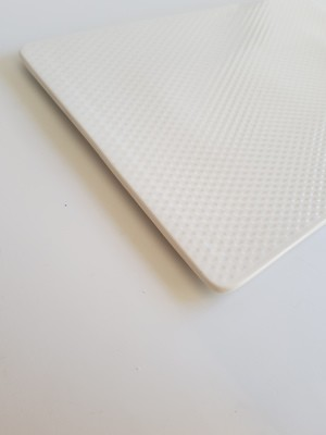 Textured White Rectangle