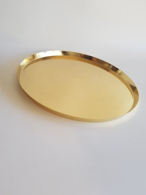 Low Lip Gold Platter
