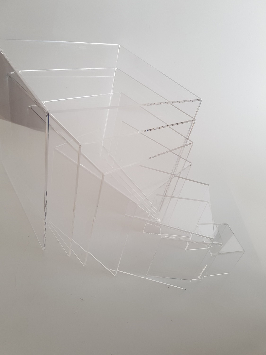 7 Piece Acrylic Bridge Riser Set