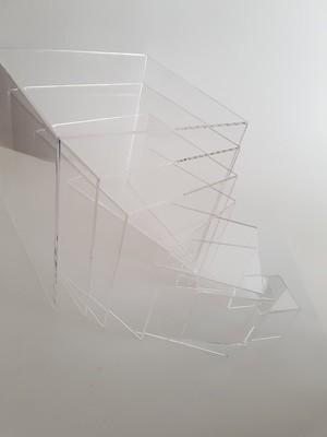 7 Piece Acrylic Bridge Riser Set