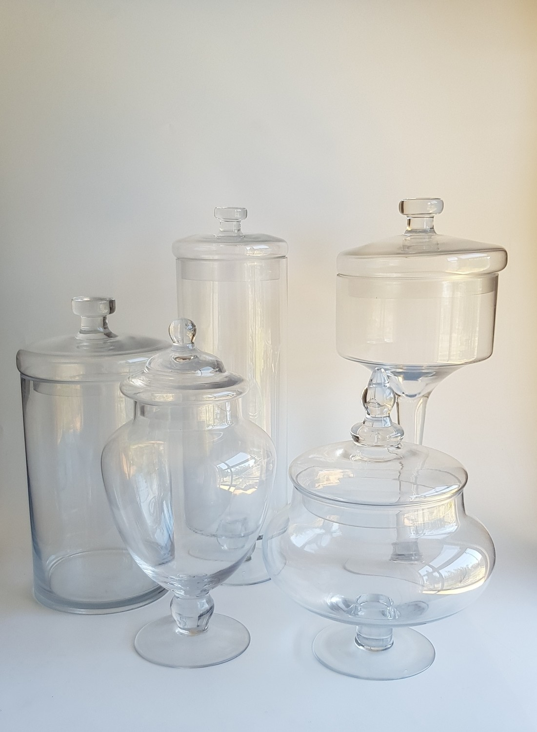 Apothecary Jars - Various Sizes
