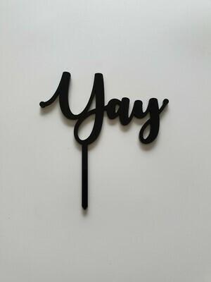 Yay - Black