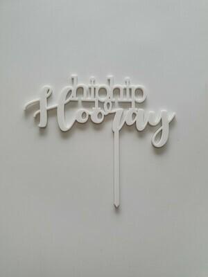 Hip Hip Hooray - White