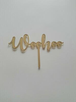 Woohoo - Gold Mirror