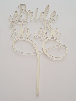 Bride To Be - Silver Mirror