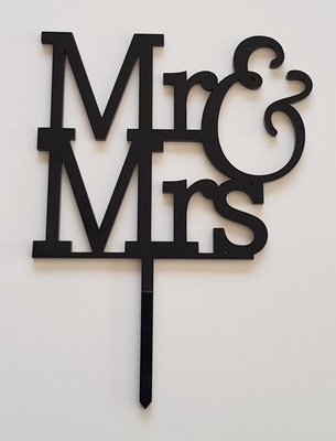 Mr & Mrs - Black