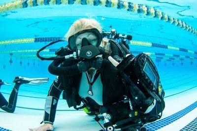 Poseidon Rebreather Pool Demo
