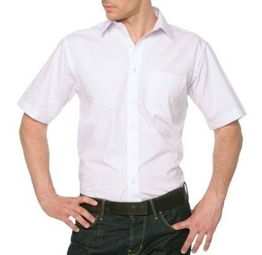Camisa Haber's Blanca Manga Corta