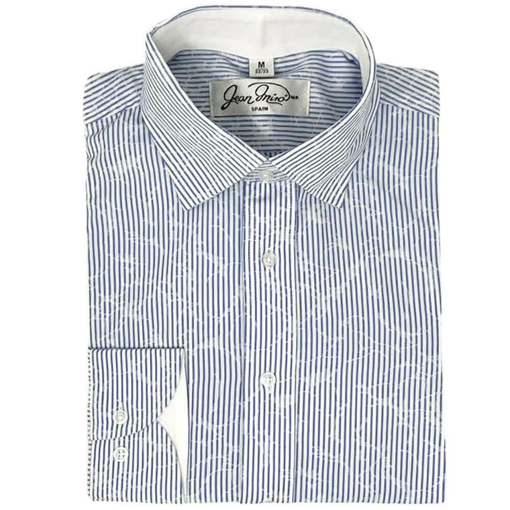 Camisa Slim Fit Cielo