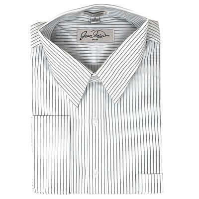 Camisa Casual Doble Puño a Rayas