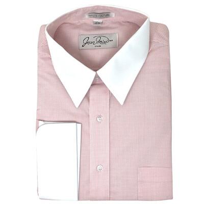 Camisa Doble Puño Rosa