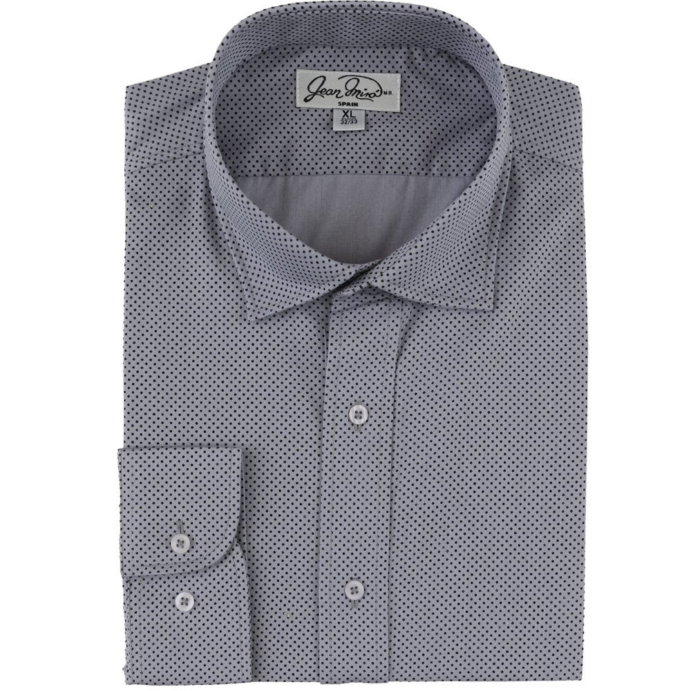 Camisa Slim Fit Patrón 100% Algodón