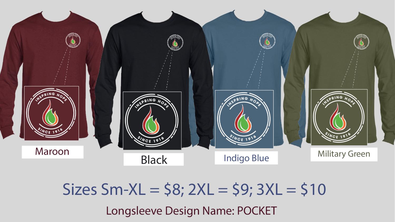 Long Sleeve - Pocket Logo Shirt