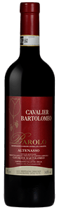 """Cavalier Bartolomeo """"Altenasso"""" Barolo DOCG 2014 from Italy (case of 6 x 750 ml)"""