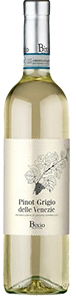 Bixio Poderi Pinot Grigio delle Venezie DOC 2018 from Italy (case of 12 x 750 ml)