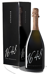 "Angoris ""1648"" Sparkling Rosé Brut 2009 from Italy (case of 6 x 750 ml)"