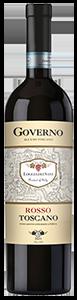 """Le Chiantigiane """"Oro dei Sani"""" Rosso di Toscana IGT Governo 2016 from Italy (case of 6 x 750)"""