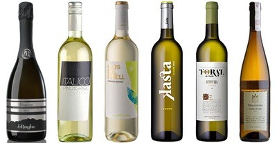 """Nick's Picks—Whites"" Wine Selection"