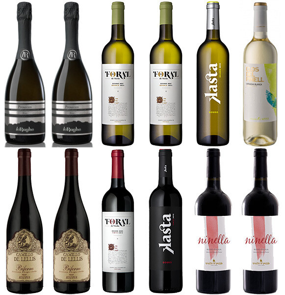 """""""Cozy Winter Picks"""" Wine Selection (mixed case of 12)"""