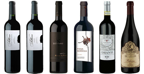 """Nick's Picks—Reds #2"" Wine Selection"