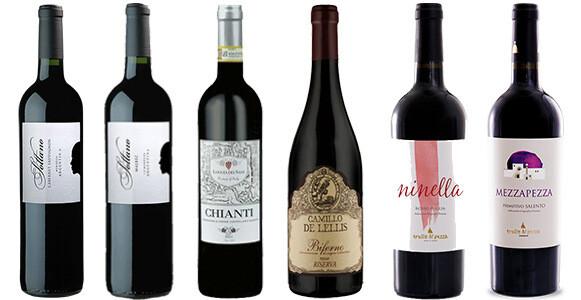 """Nick's Picks—Reds #1"" Wine Selection"