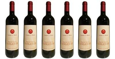Campo del Monte Rosso di Toscana IGT Sangiovese Organic 2018 // Italy (case of 6)