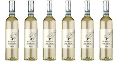 """Mondello Wines """"Bixio"""" Pinot Grigio delle Venezie DOC 2018 // Italy (case of 6)"""