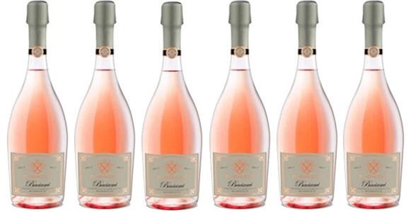 "Piandaccoli ""Baciami"" Sparkling Rosé Brut 2018 // Italy (case of 6)"