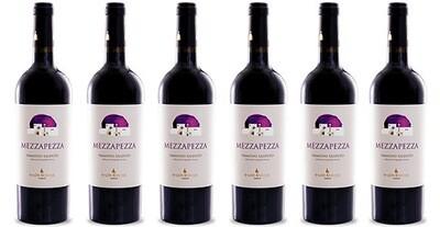 """Trullo di Pezza """"Mezzapezza"""" Primitivo Salento IGP 2016 // Italy (case of 6)"""