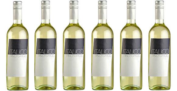 "Mondello Wines ""Italico"" Pinot Grigio Terre degli Osci IGT 2019 // Italy (case of 6)"