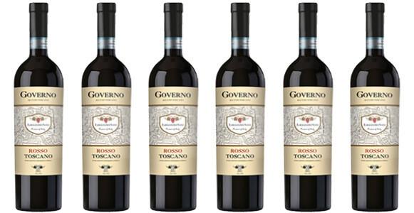 """Le Chiantigiane """"Oro dei Sani"""" Rosso di Toscana IGT Governo 2016 // Italy (case of 6)"""
