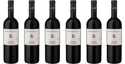 """Corte dei Venti """"Silvana"""" Super Tuscan Rosso Toscana IGT 2016 // Italy (case of 6)"""