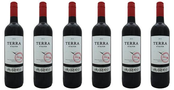 Terra d'Alter Aragonez Zero SO2  2018 // Portugal (case of 6)
