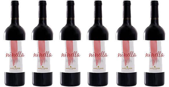 """Trullo di Pezza """"Ninella"""" Rosso Salento IGP 2015 // Italy (case of 6)"""