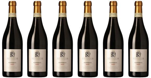 """Rocca """"Remajor"""" Monferrato DOC Rosso 2016 // Italy (case of 6)"""