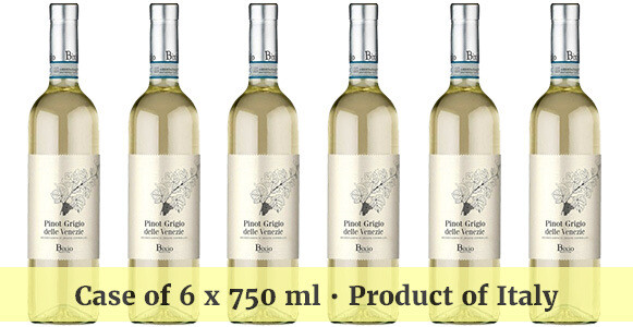 Bixio Pinot Grigio delle Venezie DOC 2018