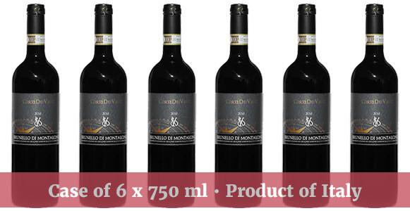 Corte dei Venti Brunello di Montalcino DOCG 2012