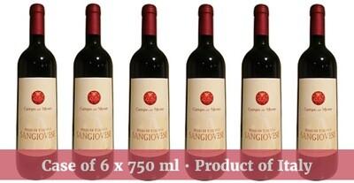 Campo del Monte Rosso di Toscana IGT Sangiovese Organic 2018