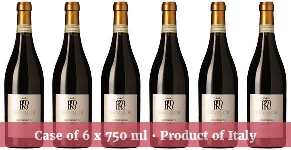 """Rocca """"Remajor"""" Monferrato DOC Rosso 2016"""