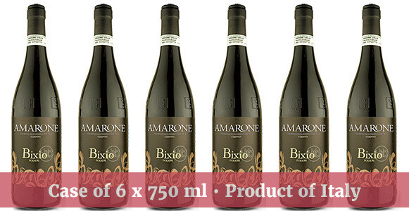 """Mondello Wines """"Bixio"""" Amarone della Valpolicella DOCG 2017"""